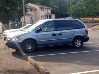 Judith Lopez' minivan.