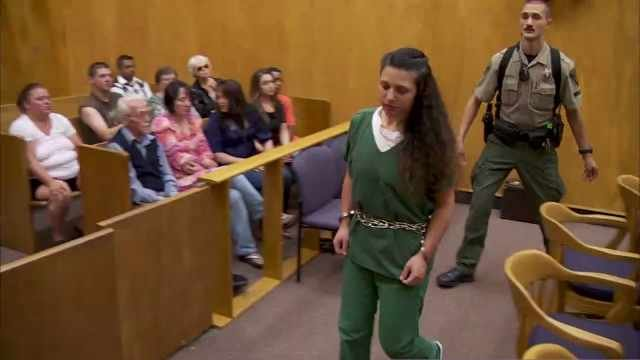 Niya Sosa-Martinez in court Wednesday