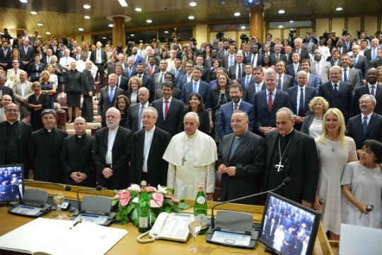Photo: Pontifical Academy of Sciences