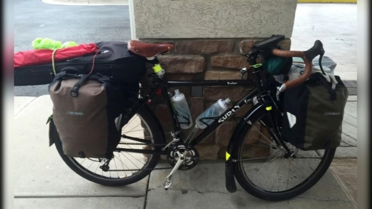 Megan Holcomb's stolen bike