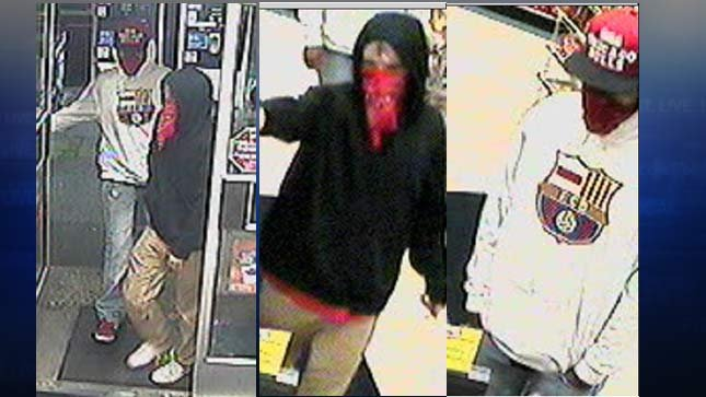 Surveillance images released by Gladstone PD.
