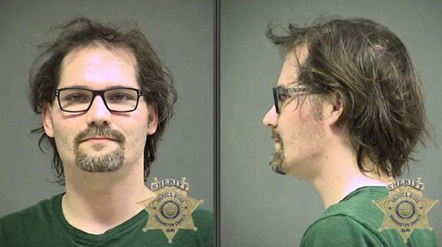 Michael Cunningham, Sunday jail booking photo