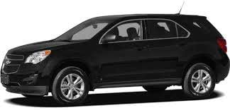 Police said Hanson was driving a dark-colored Chevy Equinox similar to the one pictured