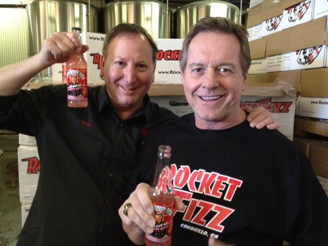 Rowdy Roddy Piper and Rob Powells, courtesy of Powells.
