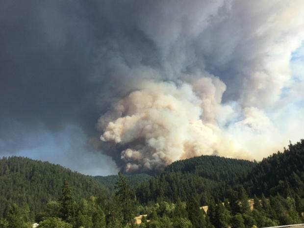 Stouts Fire grows 2,000 acres overnight