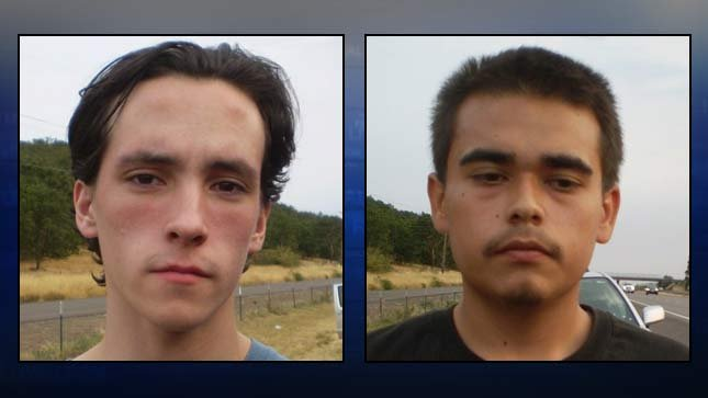 Charles Hallmark, Angel Guzman (Photos: OSP)