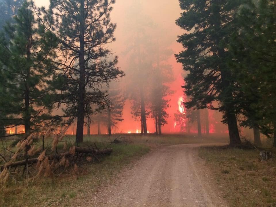 Photo: Cornet fire Facebook Page