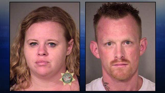 Wendy Osborne, Danny Spillers, jail booking photos