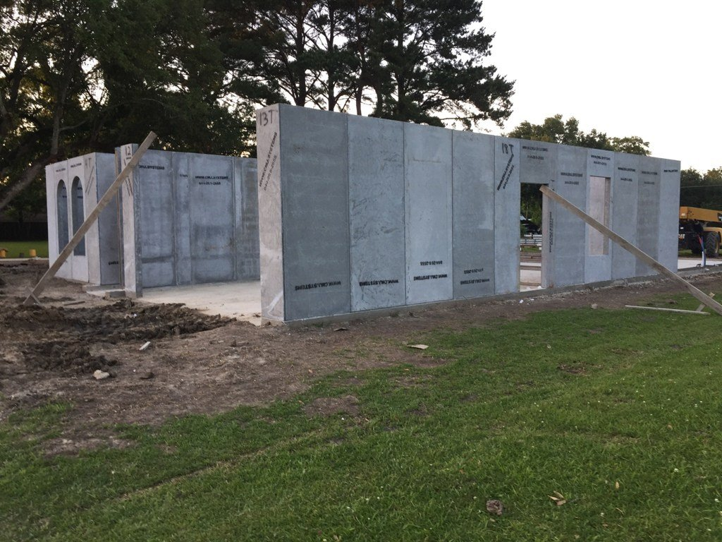 Mcminnville builder planning disaster proof concrete homes for Building a concrete house