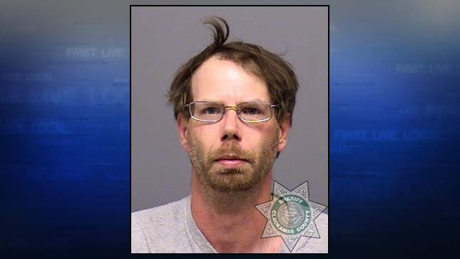 Scott Matvey, jail booking photo