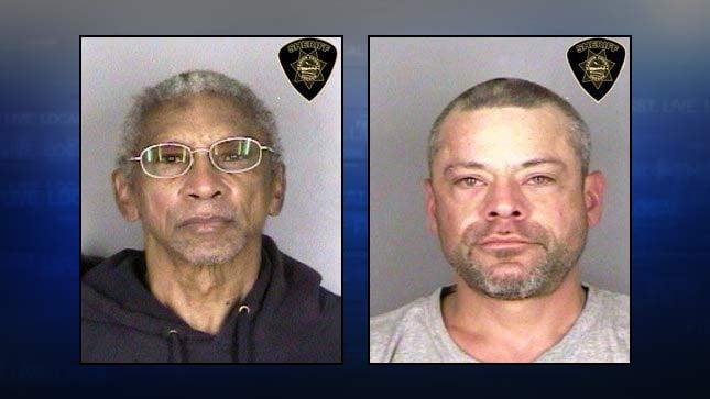 Cletus Moore, Christopher Kosack, jail booking photos