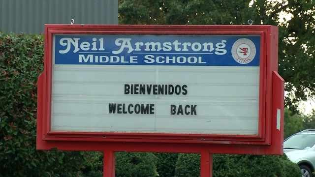 Neil Armstrong Middle School in Forest Grove