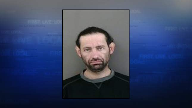 David Lewallen, jail booking photo