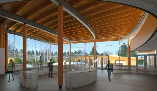 Rendering of new exhibit (Photo: Oregon Zoo)