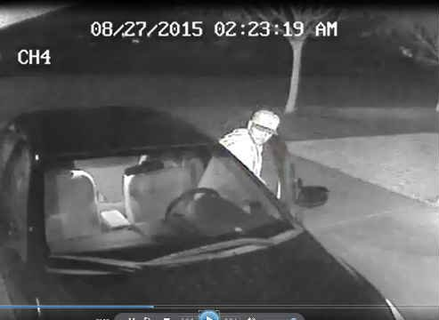 Surveillance photo of suspect (Photos: Woodburn Police)
