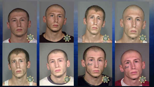 Darrell D. Classen mugshots (Photos: Multnomah County Sheriff's Office)