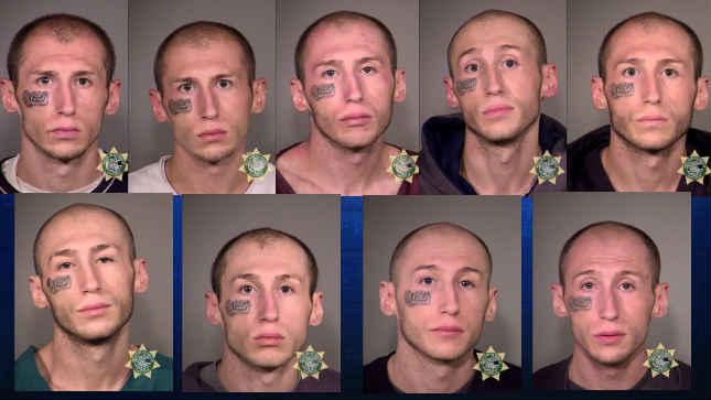 Past jail booking photos of Darrell Classen