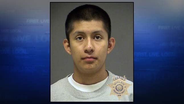 Luis Marquez-Ventura, jail booking photo