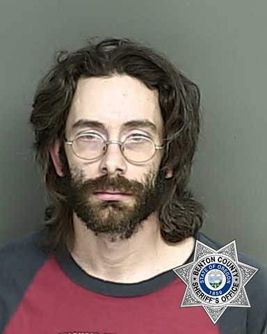 Guy Cassidy, jail booking photo