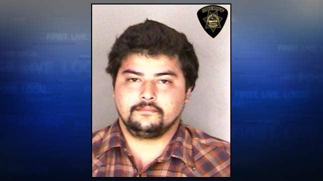 Alejandro Del Real, jail booking photo