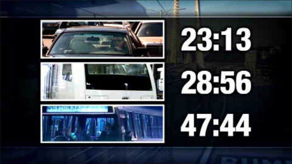 FOX 12's test run found that driving was the fastest way to get from downtown Portland to Milwaukie, followed by MAX
