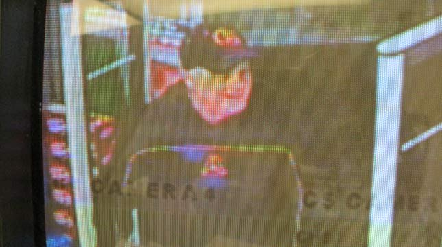 Surveillance image of Rite Aid armed robbery suspect. (Photo: Lincoln City PD)