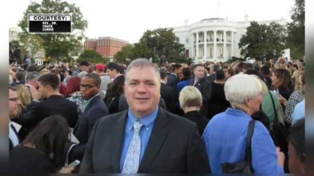 Reverend Dr. Chuck Currie at the White House (Photo: Rev. Dr. Currie)
