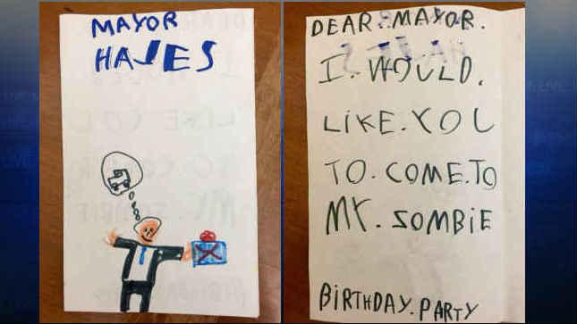 Biery's invitation to Mayor Charlie Hales