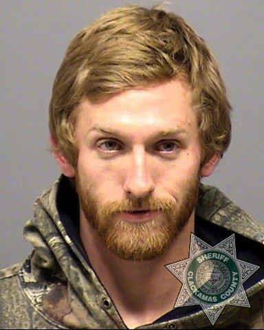 Nicolas Lunde mugshot (Photo: Gladstone Police Department)
