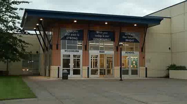 Woodburn High School (file image)