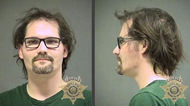 Michael Cunningham, jail booking photo