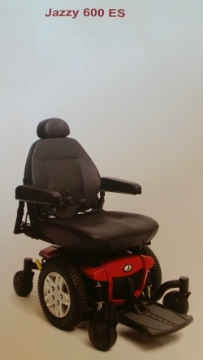 Jazzy 600 ES power wheelchair (Photo: Portland Police)