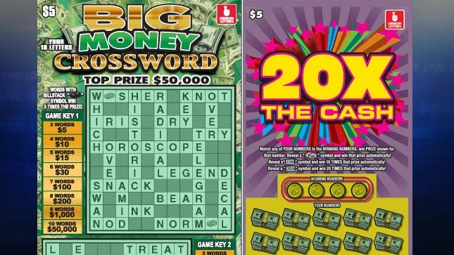 Images from Oregon Lottery