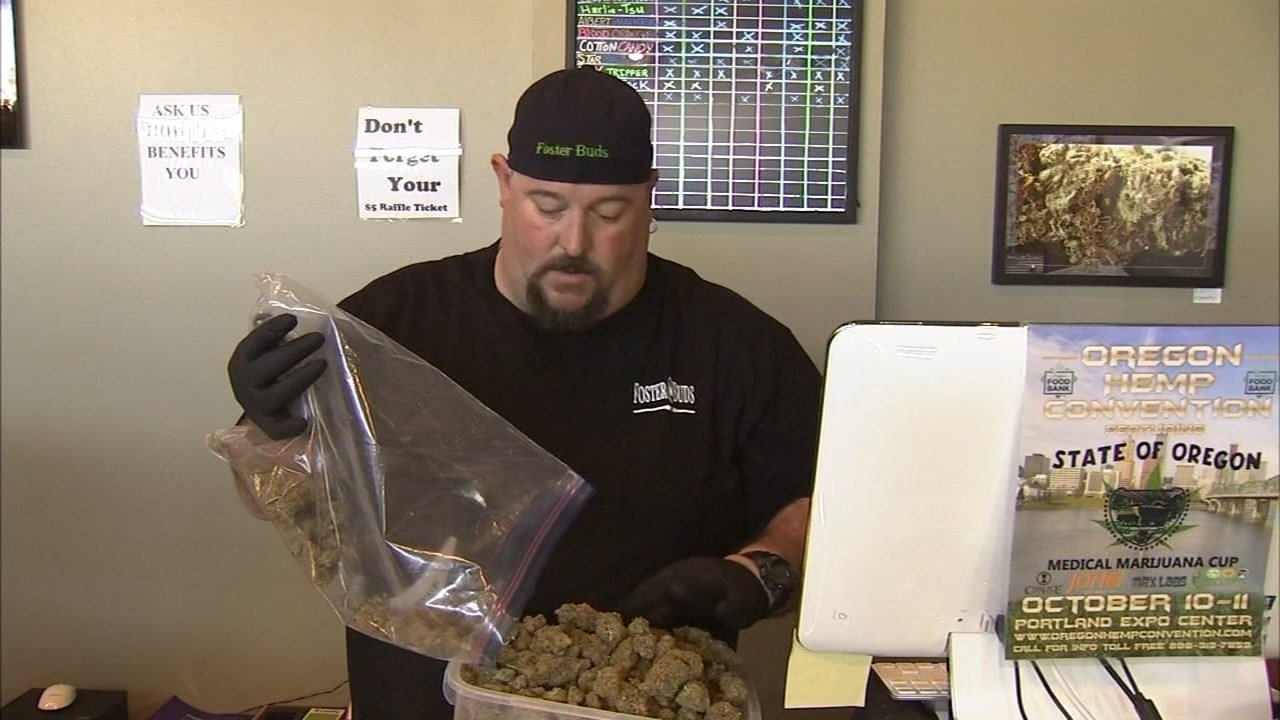 Kenneth Martin, the manager of Foster Buds, is preparing to sell recreational pot at the medical marijuana dispensary.
