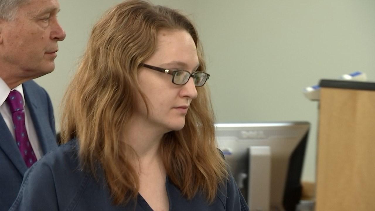 Stephanie McCrea in court Wednesday