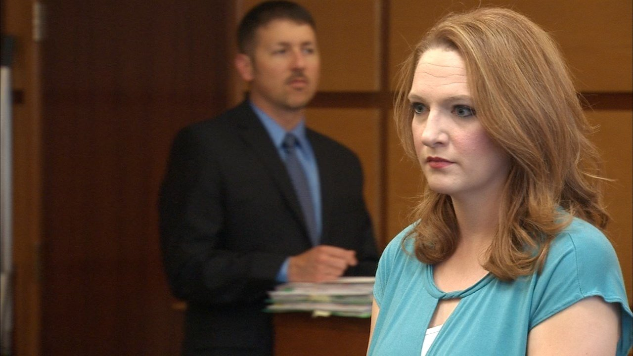 Stephanie McCrea, file image from previous court appearance