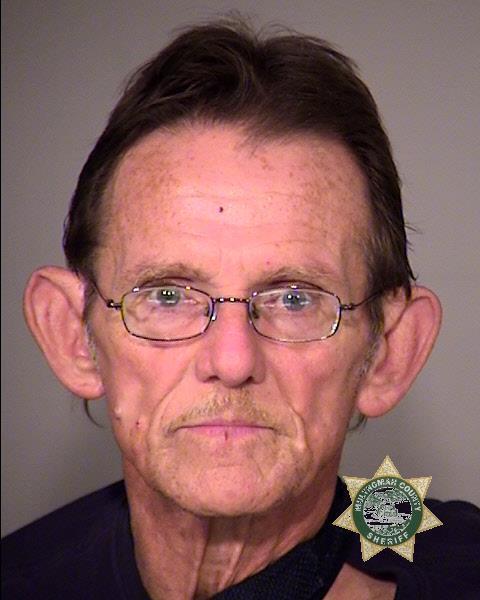 John Henry Ross Pryor, jail booking photo