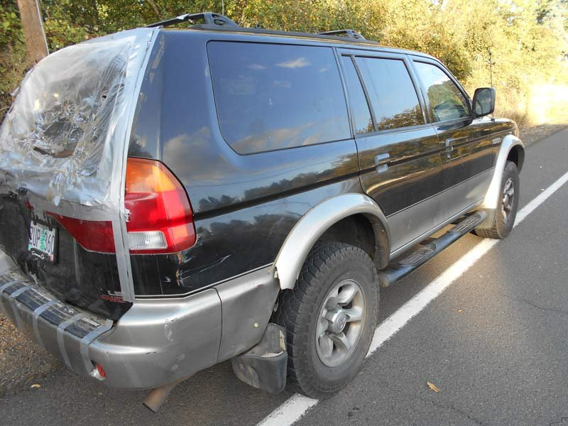 SUV driven by Jerry Goodwin spotted at burglary scenes (Photo: Linn County Sheriff's Office)