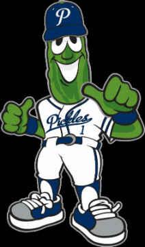 Portland Pickles mascot, Dillon.