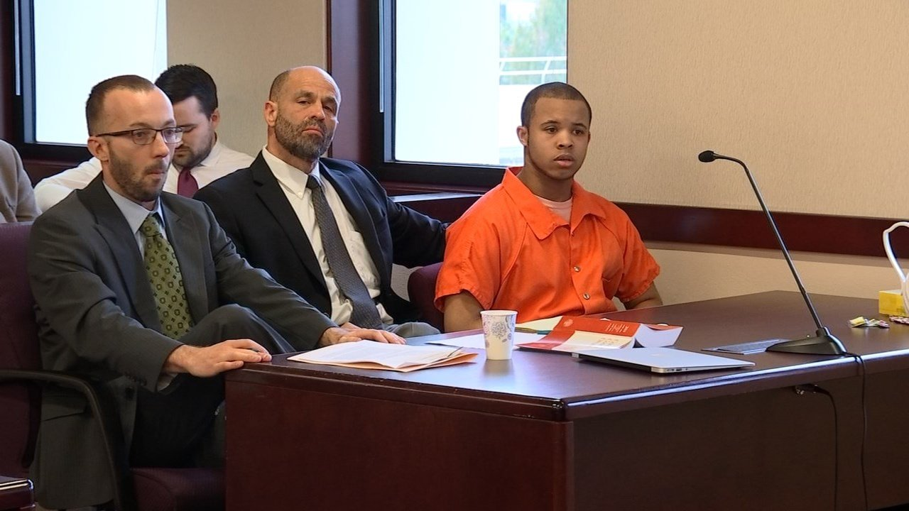 Joda Cain in court on Tuesday.