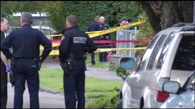 Deadly north Portland shooting scene, Oct. 7, 2013