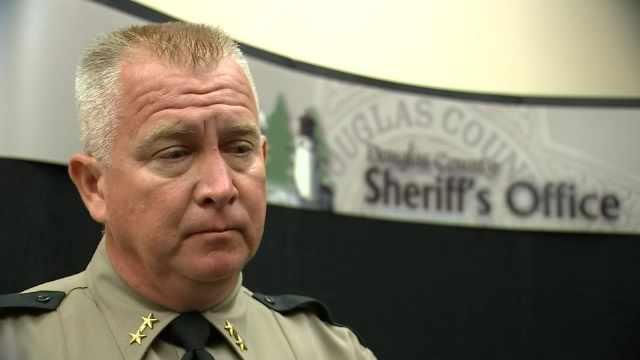 Douglas County Sheriff John Hanlin