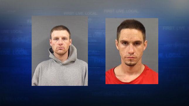 Mugshots:  Mark Chaney (left), Jacob Stones (right)