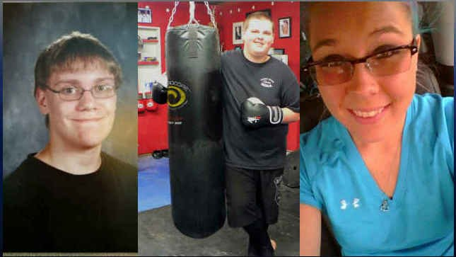 (From left to right) Lucas Eibel, Quinn Cooper and Rebecka Carnes