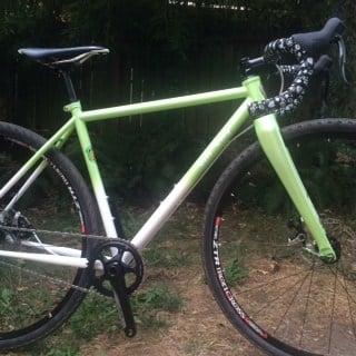Starr Walker's race bike which was stolen Monday, courtesy of Starr Walker.