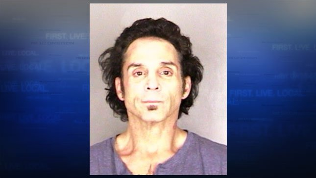 Deen Castronovo, jail booking photo