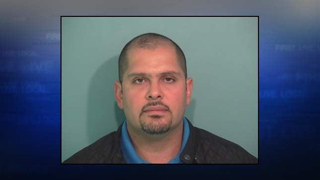 Antonio Ramos-Perez, jail booking photo