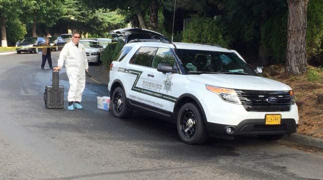 Crimes scene (Photo: Clackamas County Sheriff's Office)