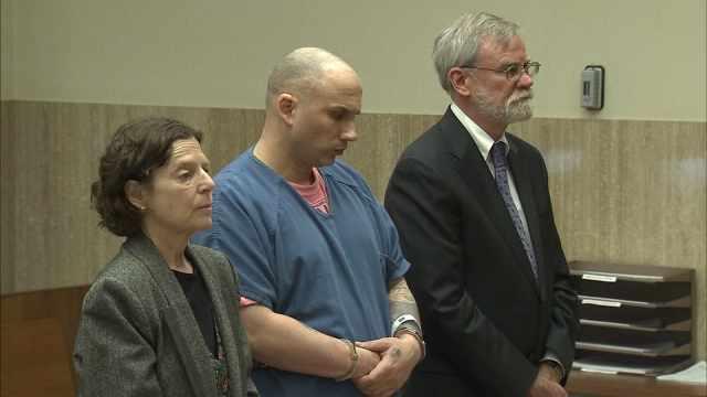 Teddy Stivahtis Jr. in court Thursday.