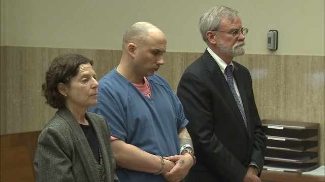 Teddy Stivahtis Jr. in court Thursday.
